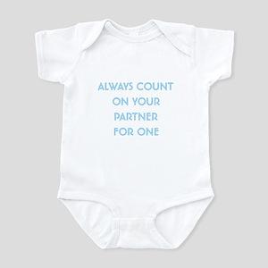 Euchre Partner Infant Bodysuit
