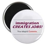 "Immigration 2.25"" Magnet (100 pack)"