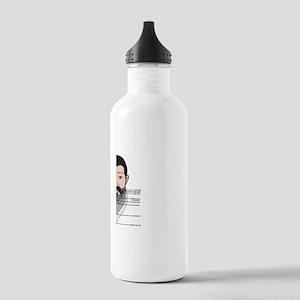 Beard Length Chart Stainless Water Bottle 1.0L