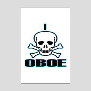 I Hate Oboe Mini Poster Print