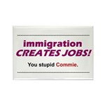 Immigration Rectangle Magnet (100 pack)