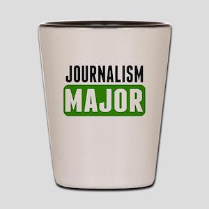 Journalism Major Shot Glass