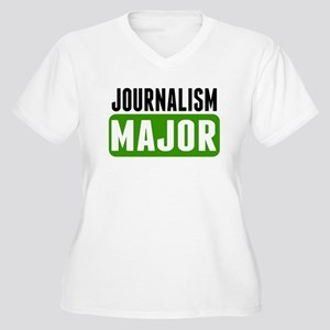 Journalism Major Plus Size T-Shirt