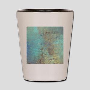 Cracked Shot Glass