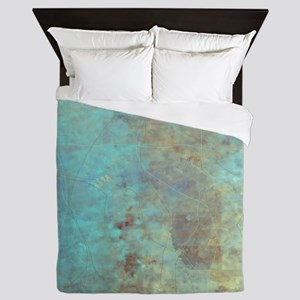 Cracked Queen Duvet