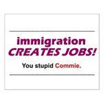 Immigration Small Poster