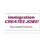 Immigration Mini Poster Print