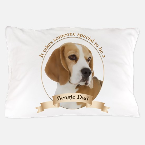 Beagle Dad Pillow Case
