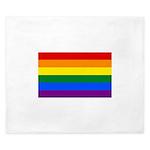 Gay Flag King Duvet