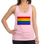 Gay Flag Racerback Tank Top