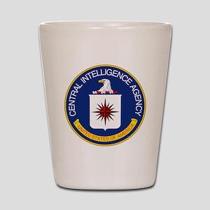 CIA Shot Glass