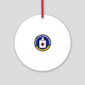 CIA Round Ornament