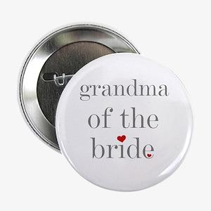 Grandma of Bride Grey Text Button
