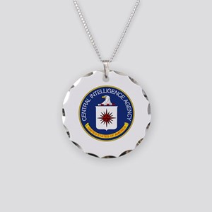 CIA Necklace Circle Charm
