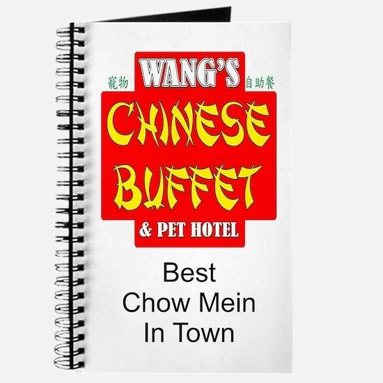 WANG'S CHINESE BUFFET Journal