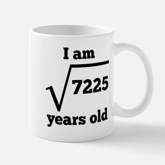 85th Birthday Square Root Mugs
