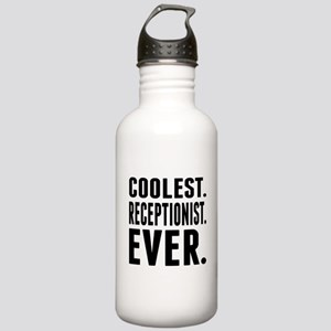 Coolest. Receptionist. Ever. Water Bottle