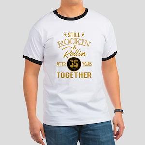 Still Rockin Rollin After 35 Years Togethe T-Shirt