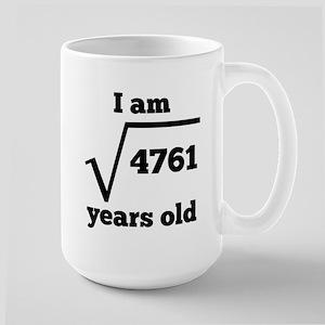 69th Birthday Square Root Mugs