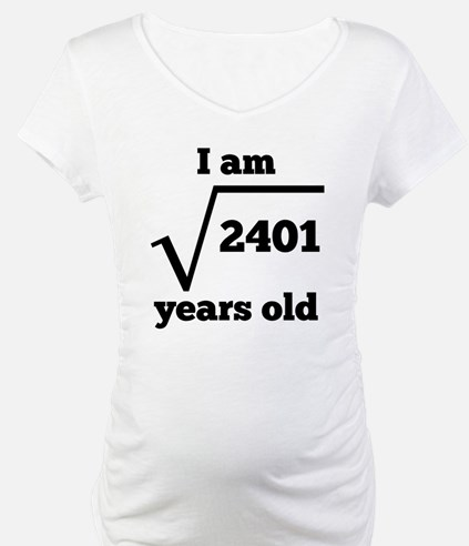 49th Birthday Square Root Shirt