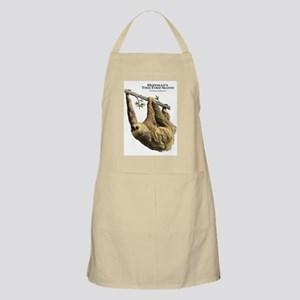 Hoffman's Two-Toed Sloth Apron