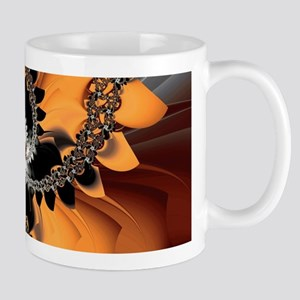 Fragments Orange Mugs