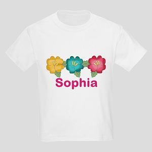 sophia's tropical flower person Kids Light T-Shirt