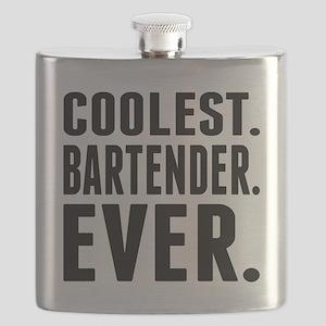 Coolest. Bartender. Ever. Flask