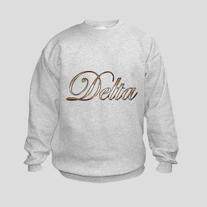 Gold Delta Kids Sweatshirt