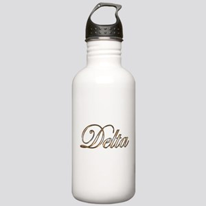 Gold Delta Stainless Water Bottle 1.0L