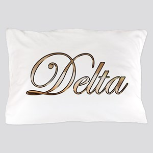 Gold Delta Pillow Case