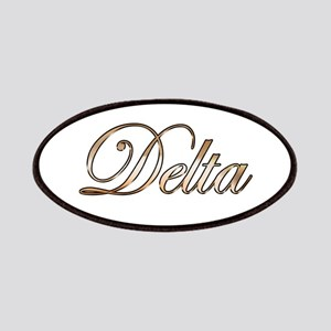 Gold Delta Patch