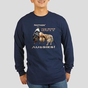 Nothin' Butt Long Sleeve Dark T-Shirt