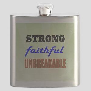 Strong Faithful Unbreakable Flask