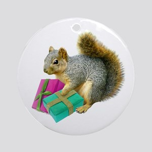 squirrel Round Ornament