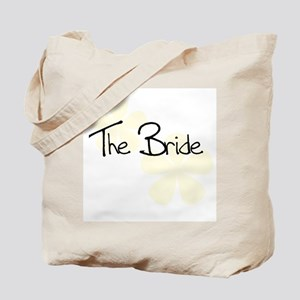 The Bride Yellow Flowers Tote Bag