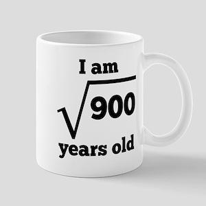 30th Birthday Square Root Mugs