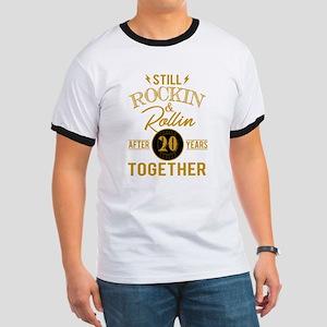 Still Rockin Rollin After 20 Years Togethe T-Shirt