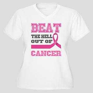 Beat Cancer Plus Size T-Shirt