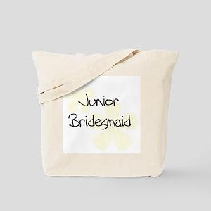 Jr. Bridesmaid Yellow Tote Bag