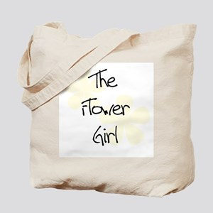 Flower Girl Yellow Flowers Tote Bag