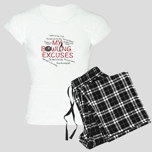 MY BOWLING EXCUSES Women's Light Pajamas