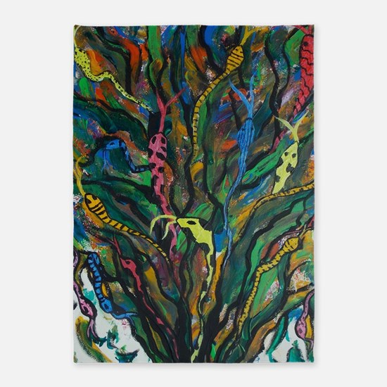Medusa Tree 5'x7'Area Rug