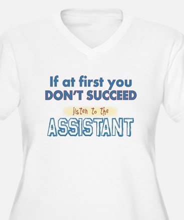 Assistant Plus Size T-Shirt