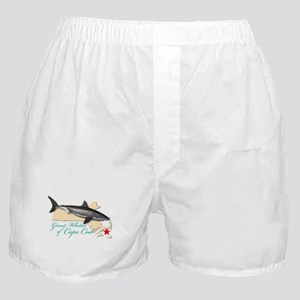 Great Whites of Cape Cod Boxer Shorts