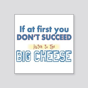 Big Cheese Sticker
