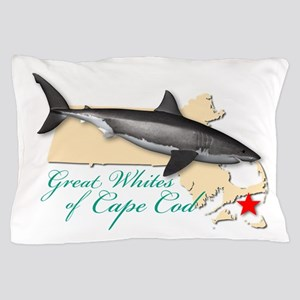 Great Whites of Cape Cod Pillow Case