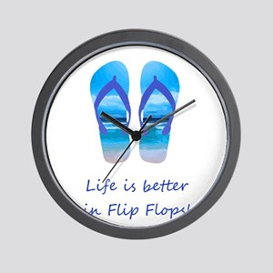 Life is Better in Flip Flops Fun Summer art Wall C