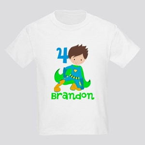 Superhero Boy Kids Light T-Shirt
