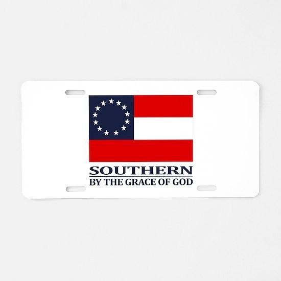 CSA 1st Nationl (Grace of God) Aluminum License Pl